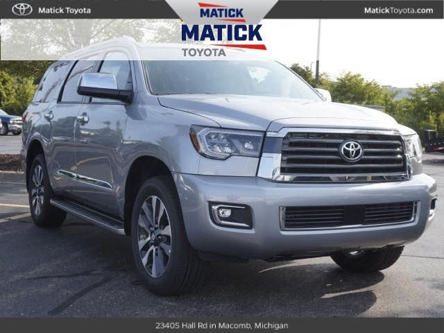 New 2018 Toyota Sequoia Limited 4d Sport Utility Near Mt Clemens