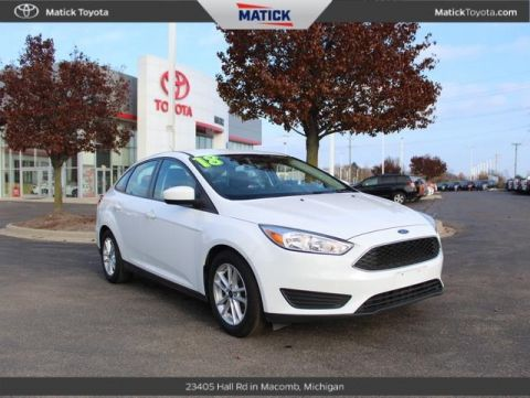 Pre-Owned 2018 Ford Focus SE FWD 4D Sedan