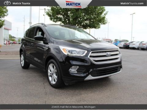 Pre-Owned 2018 Ford Escape SEL FWD 4D Sport Utility