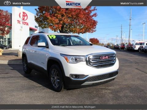 Pre-Owned 2019 GMC Acadia SLT-1 AWD 4D Sport Utility