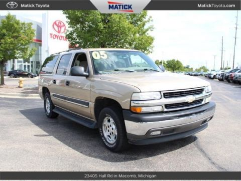 Pre-Owned 2005 Chevrolet Suburban 1500 LT RWD 4D Sport Utility