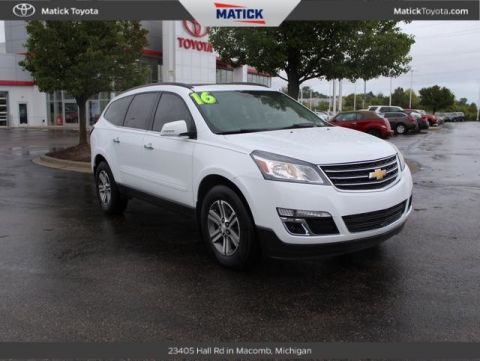 Pre-Owned 2016 Chevrolet Traverse 2LT AWD 4D Sport Utility