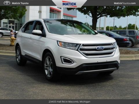Pre-Owned 2016 Ford Edge Titanium FWD 4D Sport Utility