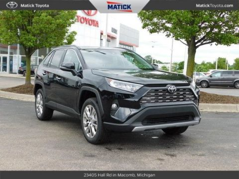 New 2019 Toyota RAV4 Limited 4D Sport Utility With Navigation & AWD