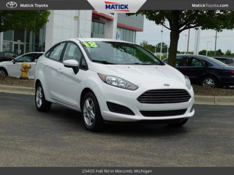 Pre-Owned 2018 Ford Fiesta SE FWD 4D Sedan