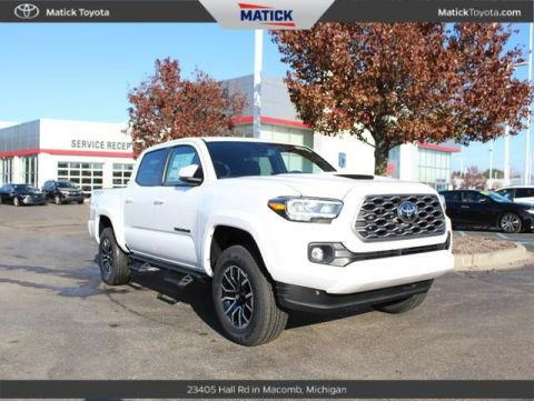 New 2020 Toyota Tacoma TRD Sport Double Cab 5' Bed V6 AT (Natl) 4D Double Cab