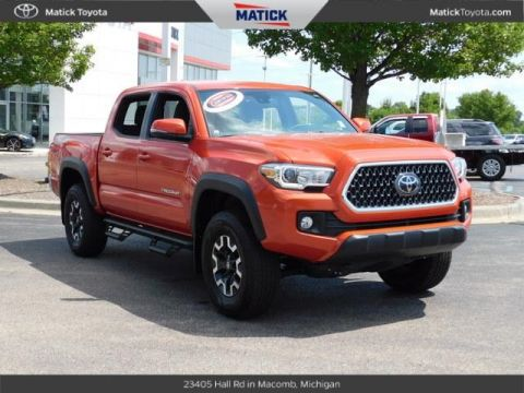 Certified Pre-Owned 2018 Toyota Tacoma TRO 4D Double Cab With Navigation & 4WD