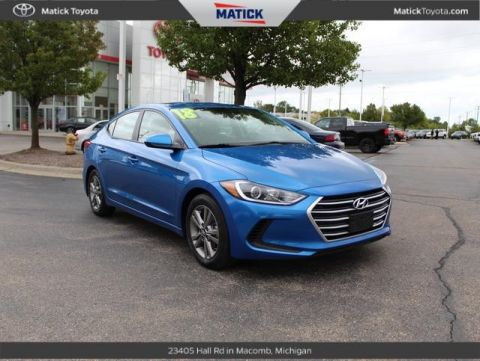 Pre-Owned 2018 Hyundai Elantra SEL FWD 4D Sedan