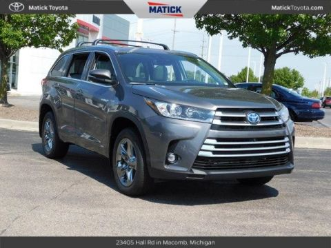 New 2019 Toyota Highlander Hybrid Limited Platinum 4D Sport Utility With Navigation & AWD