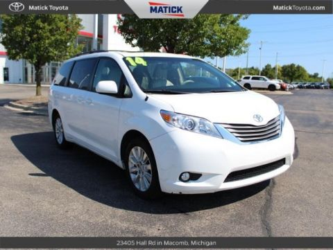 Pre-Owned 2014 Toyota Sienna Limited AWD 4D Passenger Van