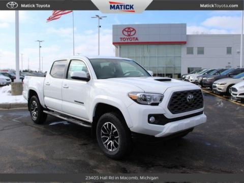 New 2020 Toyota Tacoma TRD Sport Double Cab 5' Bed V6 MT (Natl) 4D Double Cab