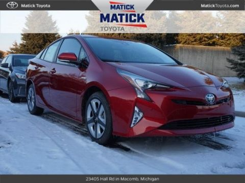 New 2018 Toyota Prius Four Touring 5D Hatchback With Navigation