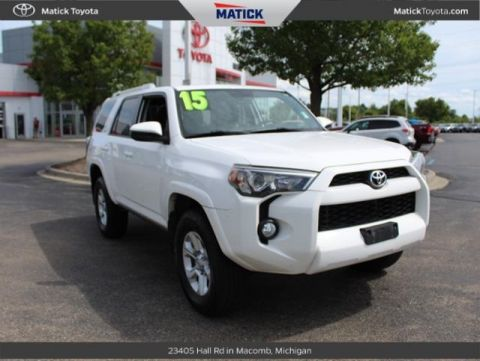 Pre-Owned 2015 Toyota 4Runner SR5 4D Sport Utility 4WD