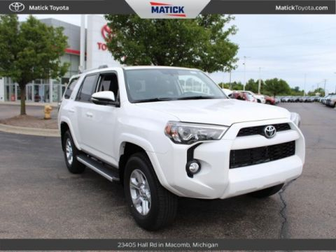 New 2019 Toyota 4Runner SR5 Premium 4D Sport Utility With Navigation & 4WD