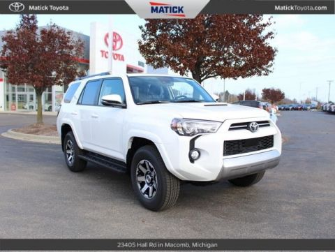 New 2020 Toyota 4Runner TRD Off-Road Premium 4WD 4D Sport Utility