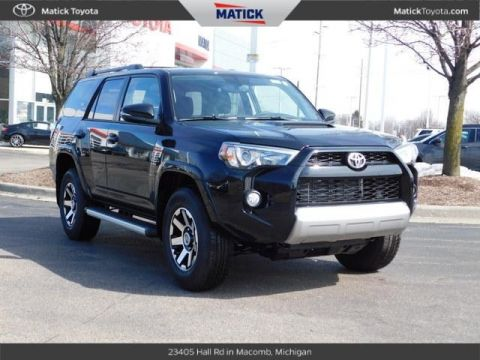 New 2019 Toyota 4Runner TRD Off-Road Premium 4D Sport Utility With Navigation & 4WD