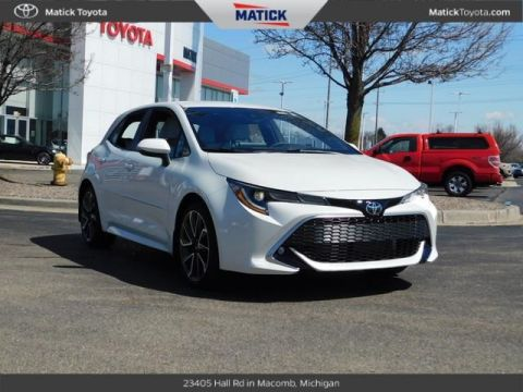 New 2019 Toyota Corolla Hatchback XSE FWD 5D Hatchback